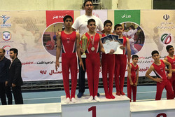 تیم تهران قهرمان مسابقات ژیمناستیک استعدادهای برتر شد