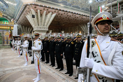 مراسم تجديد الميثاق مع مبادئ الثورة الاسلامية / صور