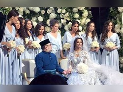 ملائیشیا کے 49 سالہ بادشاہ  کی 25 سالہ روسی حسینا سے شادی