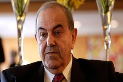 Allawi urges Iraq to mediate between Tehran and Washington