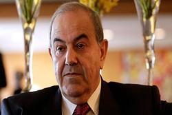 Allawi urges Iraq to mediate between Tehran and Washington