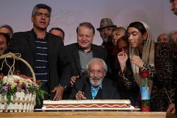 جشن آغاز هشتادوپنجمین سال زندگی جمشید مشایخی