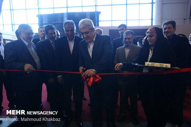 افتتاح نهمین نمایشگاه بین المللی هوایی ایران در کیش