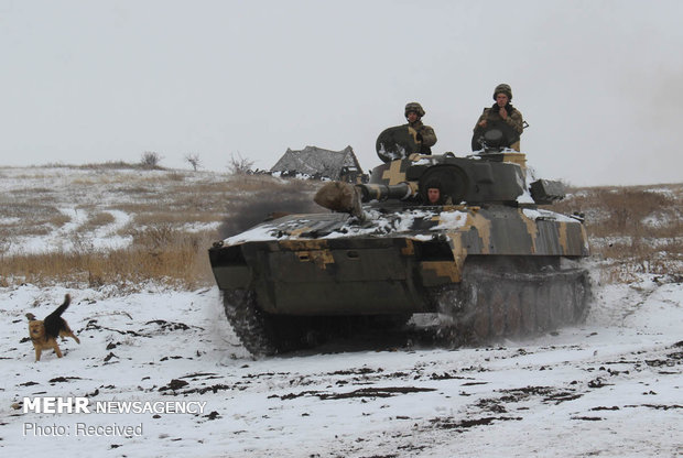 توترات بين روسيا وأوكرانيا