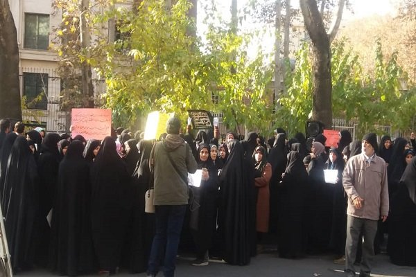 تجمع معلمان در حمایت از مردم یمن