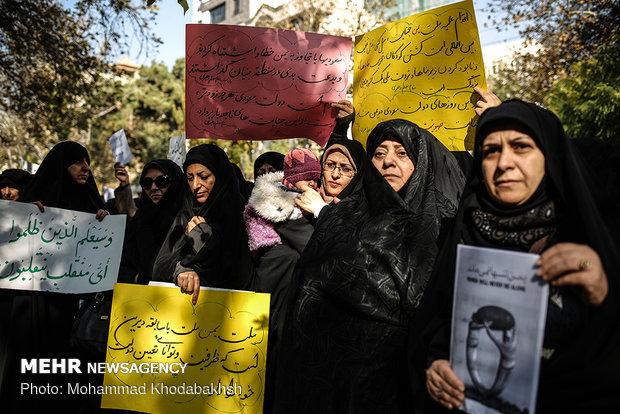 تجمع فرهنگیان در اعتراض به کشتار مردم یمن