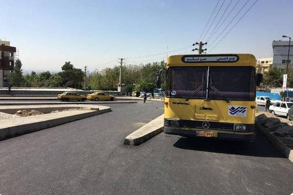 پایانه حمل و نقل عمومی شمال شرق تهران احداث شد