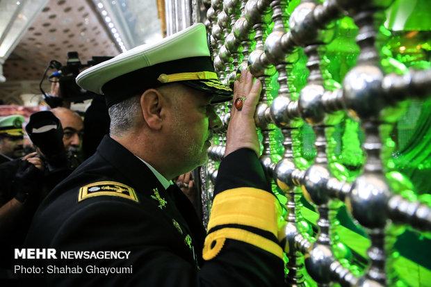 مراسم تجديد الميثاق مع مبادئ الثورة الاسلامية