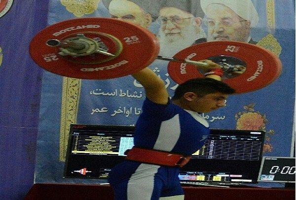 درخشش نوجوانان وزنه بردار آذربایجان شرقی در مسابقات کشوری