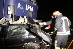 برخورد قطار تبریز به مشهد با خودرو ۲۰۶ در حوالی خسروشهر