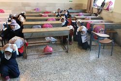 بیستمین مانور سراسری زلزله در مدارس قزوین آغاز شد