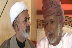 نوری شاهرودی با وزیر مسئول امور خارجه عمان دیدار و گفتگو کرد