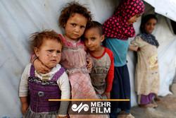 فلم/ یمنی ماں کا سعودیہ کے ہوائی حملے میں بچے کی شہادت پر دردناک گریہ