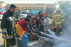 بیستمین مانور سراسری زلزله در مدارس آران و بیدگل برگزار شد