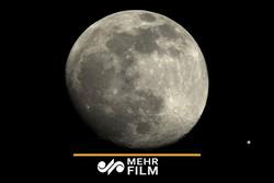 کلیپی جالب از ماه