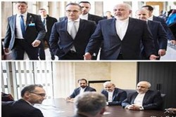 FM Zarif, German counterpart discuss issues of mutual interest in Geneva