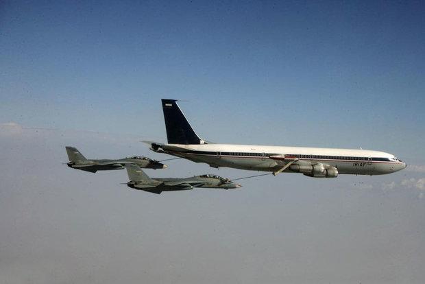 سوخت گیری جنگندههای نهاجا در ارتفاع پست با موفقیت انجام شد