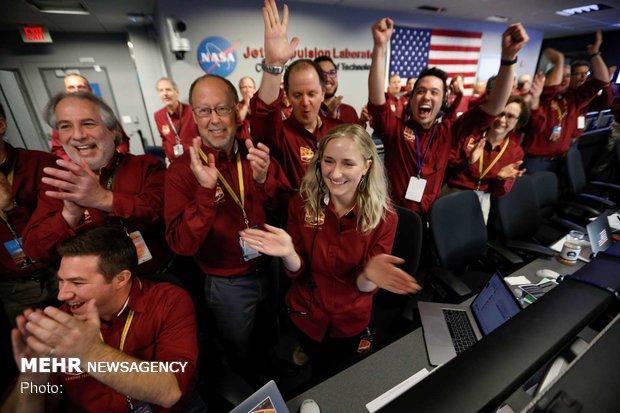 فرود کاوشگر اینسایت در مریخ