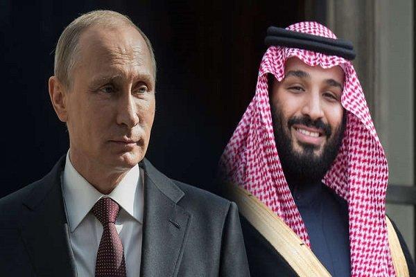 رایزنی «بن سلمان» و «پوتین» درباره روابط دوجانبه