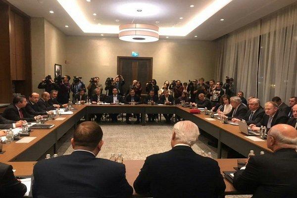 ضیافت شام وزیرخارجه قزاقستان به افتخار روسای هیات های روند آستانه