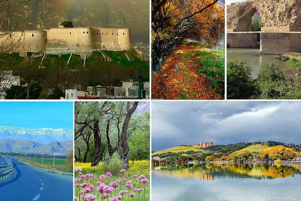 چاپ و بازنگری ۱۱۰ هزار جلد کتاب با موضوع جاذبههای گردشگری لرستان