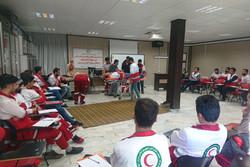 دوره تخصصی پایه پیش بیمارستانی در هلال احمر قزوین برگزار شد