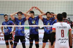 دیدار تیم های والیبال فولاد سیرجان ایرانیان و شهروند اراک