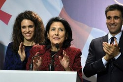 Georgia elects Salome Zurabishvili as first female president