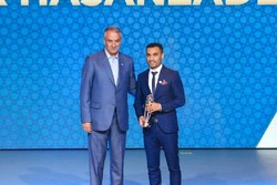 Hassanzadeh claims his 4th 'AFC Futsal Player of the Year' title