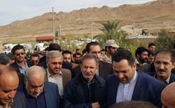 بازدید معاون اول رئیس جمهور از مناطق زلزلهزده