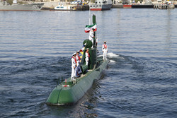 الحاق دو فروند زیردریایی کلاس غدیر