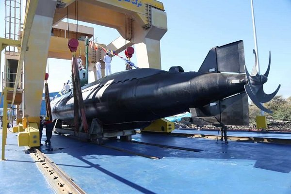 Two Ghadir-class submarines officially join Iran's naval fleet