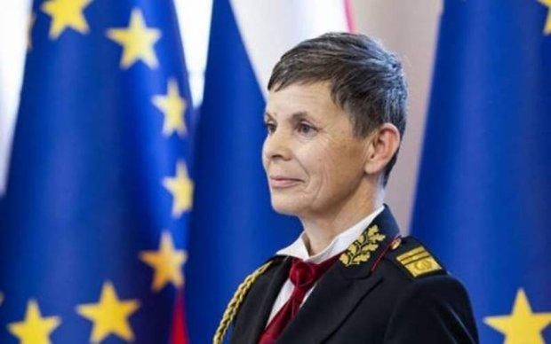 اسلووینیا میں خاتون فوجی چیف مقرر