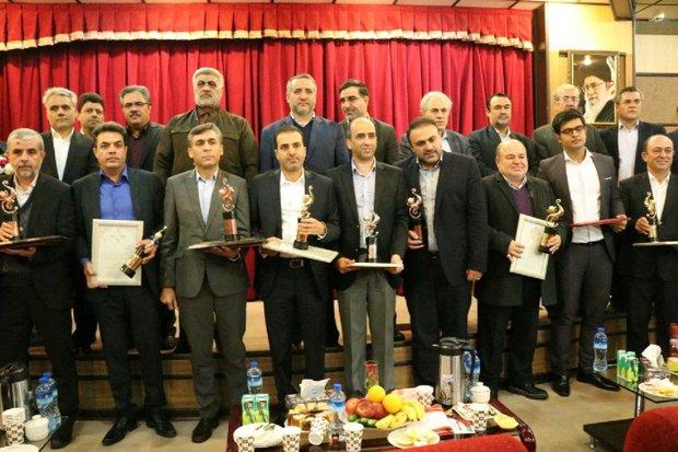 صادرکنندگان برتر استان قم تجلیل شدند