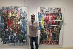 نمایشگاه نقاشی «هبوط» در رشت آغاز به کار کرد