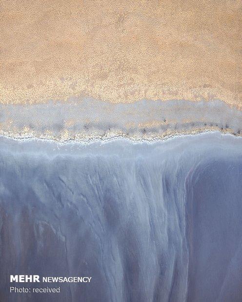 دریاچه های نمک در غرب استرالیا