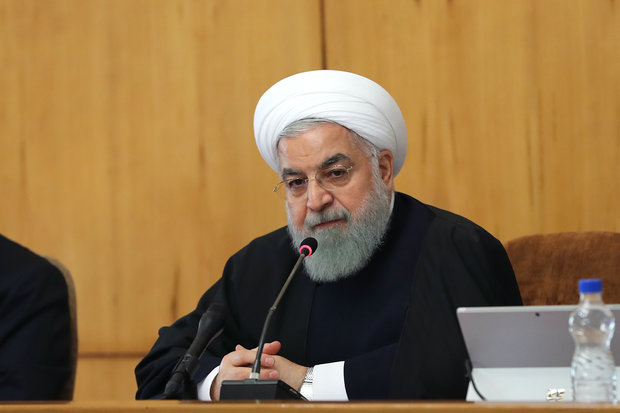 Rouhani calls US request for BoG meeting on Iran 'funny story'