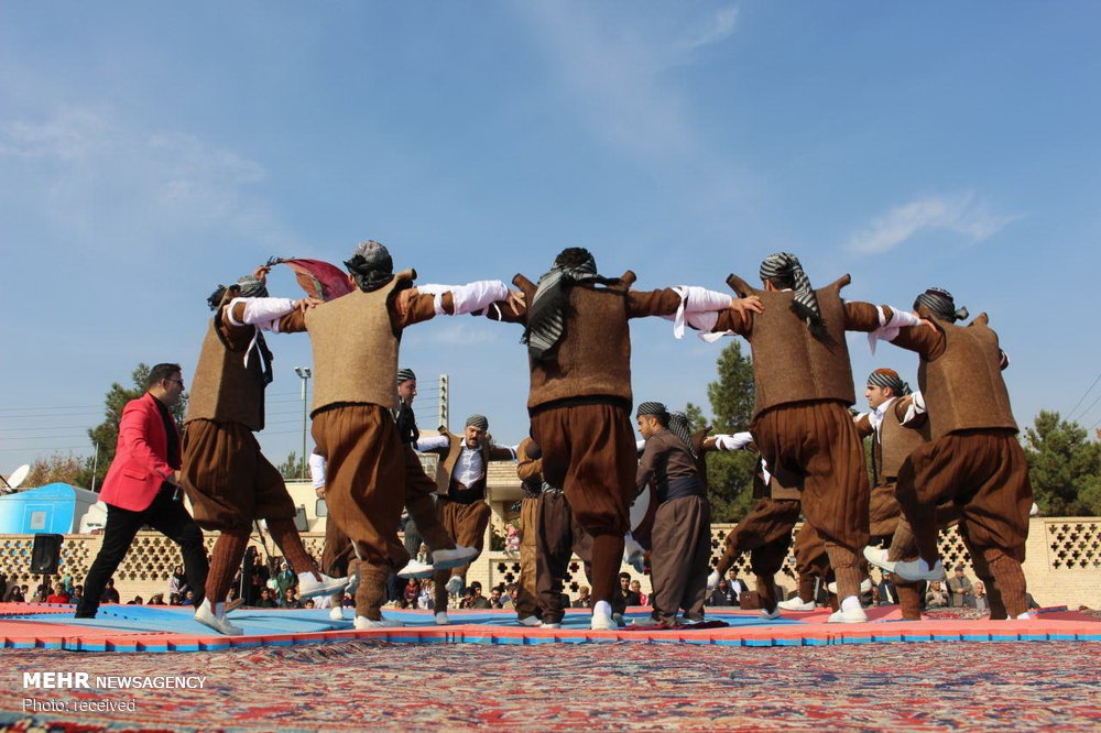 4th festival of Iran tribes and ethnic groups