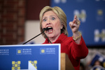 Will Clinton have the EU's support?