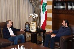 رایزنی «سعد الحریری» و «جبران باسیل» درباره تشکیل دولت لبنان