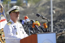 Navy cmdr. vows crushing response to any aggression