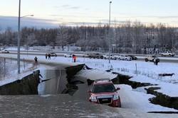 زلزله ۷ ریشتری آلاسکا را لرزاند