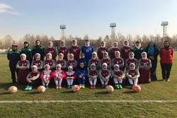 آغاز تمرینات تیم فوتبال دختران نوجوان برای مسابقات قهرمانی آسیا
