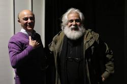 حمید امجد در خانه نمایش مهرگان ۵۰ ساله شد
