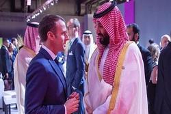 تماس تلفنی ماکرون با بن سلمان در واکنش به حمله آرامکو