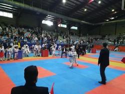 مسابقات کشوری کاراته در بناب با حضور ۲۸ باشگاه برگزار شد