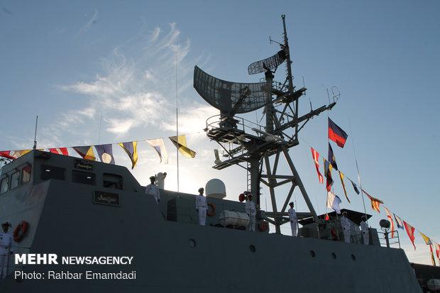الحاق ناوشکن سهند به نیروی دریایی ارتش