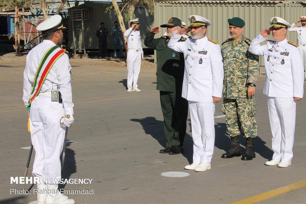 Stealth Sahand destroyer joins Iranian naval fleet