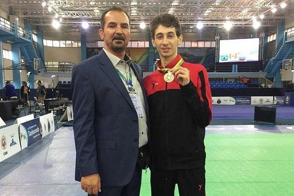 Iran wins two gold medals at World Military Taekwondo C'ships
