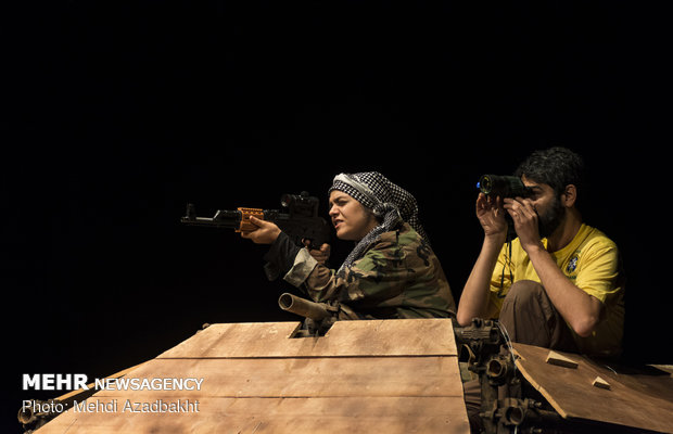'The Sniper' stages in Tehran